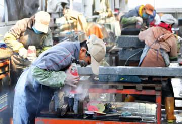 世界に羽ばたく、恵安県の石材産業