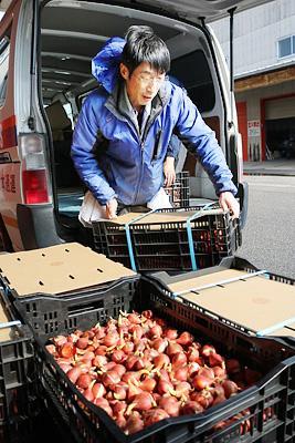 台北のチューリップ展へ球根初輸出 県花卉組合