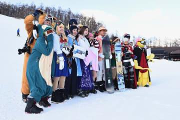 コスプレ割で超お得にスキー&スノボーを楽しもう!inマウントジーンズ那須