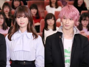 深田恭子さん(左)と横浜流星さん