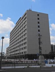 神戸海上保安部が入る神戸第2地方合同庁舎=神戸市中央区波止場町
