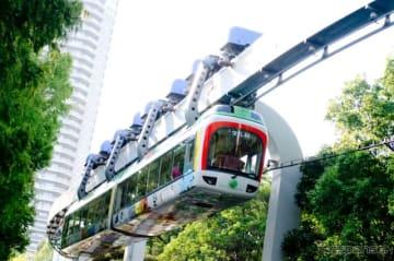 恩賜上野動物園モノレール4代目の車両となる40形。