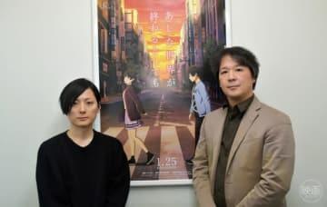 (左から)監督・脚本の櫻木優平、プロデューサーの田坂秀将