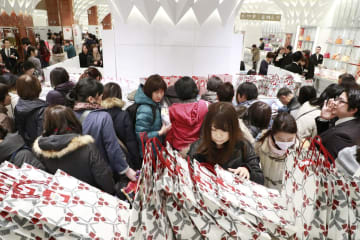 Japan dept. store sales fall in 2018 due to storms, quakes