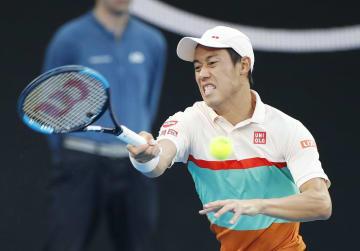 Tennis: Nishikori retires against Djokovic in Australian Open quarters
