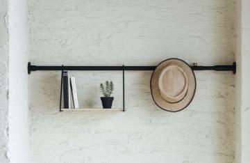 従来の突っ張り棒のイメージを覆すカッコよさがDRAW A LINEの魅力。