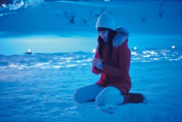 銀世界の北欧・フィンランドで撮影、登坂広臣×中条あやみ『雪の華』メイキング入り特別映像
