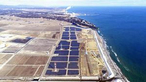 福島県内最大メガソーラー群完成 南相馬の津波被災地