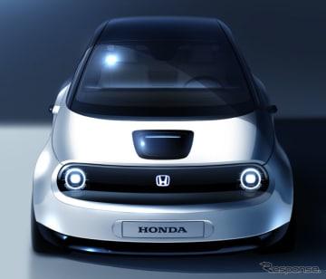 ホンダの新型EVのプロトタイプのイメージスケッチ