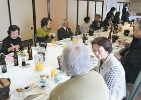 消費者被害のない一年になるよう願い、会食を楽しんだ新年交礼会