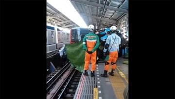 中目黒駅で転落の女性、インフルに感染 ホームふらつき歩く