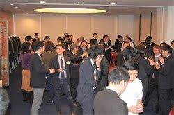 パーティーには多くのカメラ業界関係者が集まった