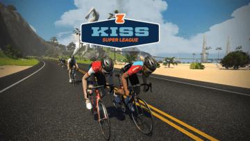 ズイフト「KISSスーパーリーグ」eスポーツ初のプロサイクリングリーグ始動