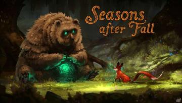 手描きのグラフィックとともに楽しむパズルアクション「Seasons after Fall」がPS4で配信!
