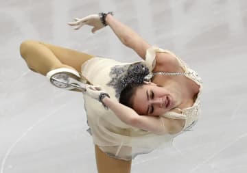 자기토바, 피겨 유럽선수권 SP 1위