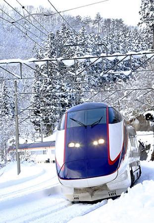 置賜、雪少なめ「過ごしやすい冬」 福島−米沢のつばさ運休ゼロ