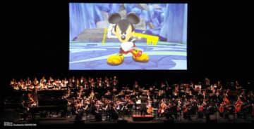 「キングダム ハーツ」のオーケストラコンサートの様子