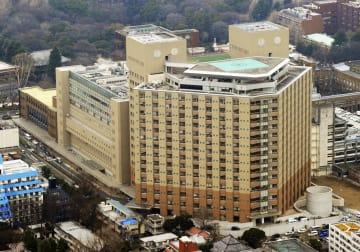 東大病院=2012年、東京都文京区