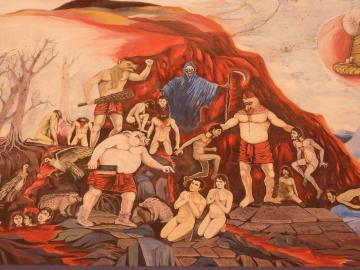 【連載】タイの地獄めぐり⑩ 受け継がれる地獄絵 ―もうひとつの地獄表現―