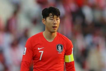 韓国代表のソン・フンミン photo/Getty Images