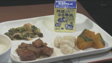 神戸市役所で学校給食ジャック! 懐かしい味が楽しめます