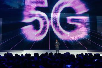 華為、業界初の「5G」基地局用チップを発表