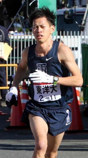 箱根駅伝の2区で力走し、東洋大の往路優勝に貢献した山本