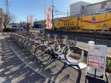 朝霞駅東口 自転車シェア