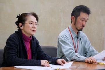 松村さん(左)、佐々木さん