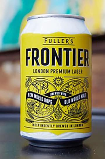 フラー社の高級ビール「フロンティア」