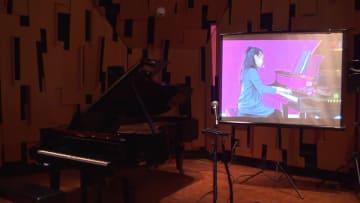 ネット技術でタッチまで再現 中米間でピアノ遠隔授業