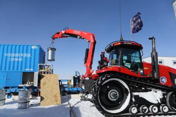 南極科学観測隊、南極高原離れ中山基地へ