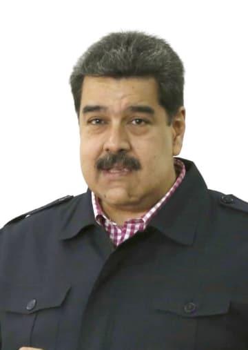 ベネズエラのマドゥロ大統領(AP=共同)