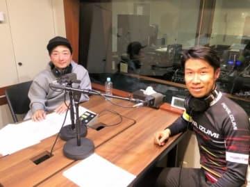 栗村修さん(右)と野島