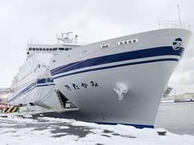 新造船での就航が始まった「きたかみ」