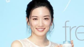 スキンケアブランド「フリープラス」の新イメージキャラクター&CM発表会に登場した永野芽郁さん