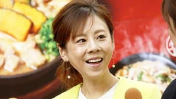 「ご当地麺処 麺屋ガスト」のPR発表会に出席した高橋真麻さん