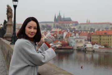 特別番組「吉田羊、プラハ・ウィーンへ ヨーロッパに嫁いだ なでしこ物語」に出演する吉田羊さん(C)読売テレビ