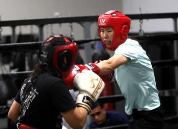 ボクシング中国代表、東京五輪に向けヒューストンで特訓