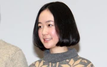 連続ドラマ「デザイナー 渋井直人の休日」の会見に登場した黒木華さん