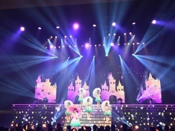 ファイナルツアー「FINAL TOUR - HOME -」の長野公演に登場した「Wake Up,Girls!」