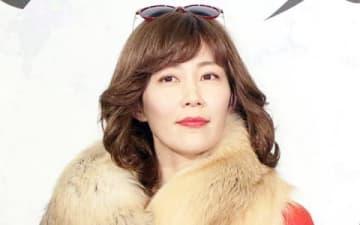連続ドラマ「後妻業」の制作会見に登場した木村佳乃さん