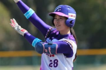 京都フローラ・みなみ【写真提供:日本女子プロ野球リーグ】