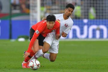 カタールに敗れた韓国代表 photo/Getty Images