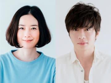 テレビドラマ「あなたの番です」にダブル主演する原田知世さん(左)と田中圭さん