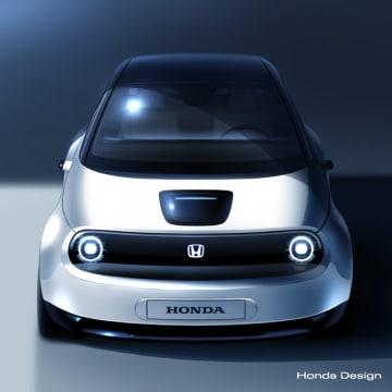 ホンダが公開する新EVのプロトタイプイメージ。(画像: Honda Europeの発表資料より)