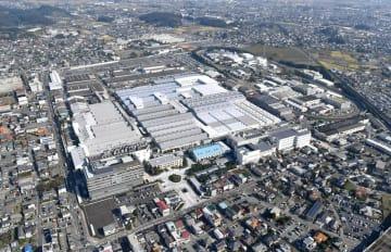 スバルの群馬製作所の本工場=群馬県太田市