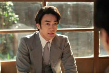 NHK連続テレビ小説「まんぷく」第99回の一場面(C)NHK