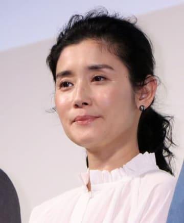 映画「凜-りん-」のプレミアム試写会に登場した石田ひかりさん