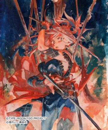 マンガ「Fate/Grand Order -Epic of Remnant- 英霊剣豪七番勝負」のイラスト